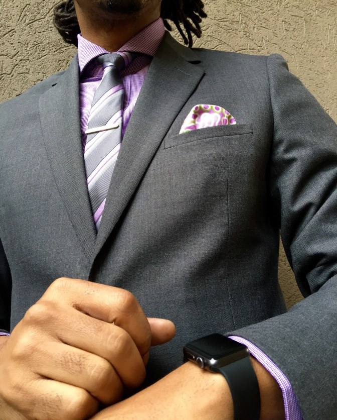 """The Essential Grey Suit"""
